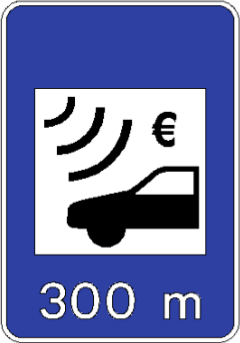 Amoita Car Hire Toll Road Sign Electronic Payment