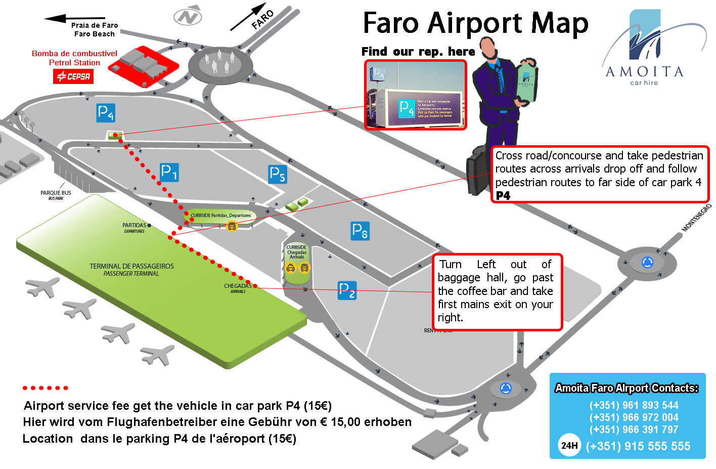 Image Result For Faro Airport Map Car Hire